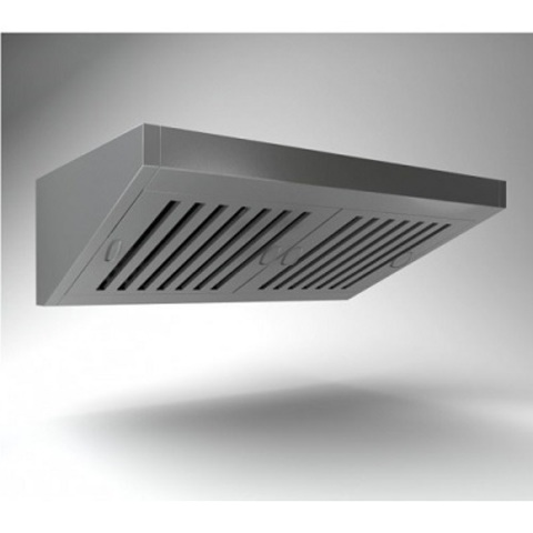 Зонт вентиляционный пристенный ВЗП-14-7 1400х700х450h