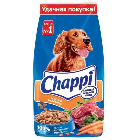 Корм CHAPPI Мясной обед Мясное изобилие 15 кг РОССИЯ
