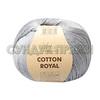 Пряжа Fibranatura Cotton Royal 18-730 (Стальной)