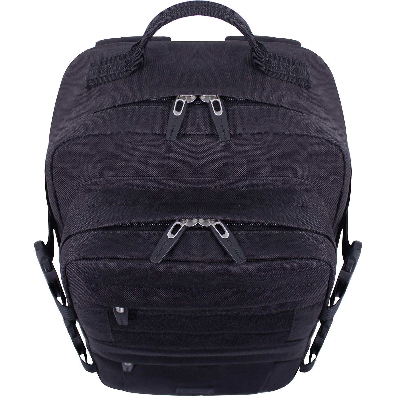 Рюкзак для ноутбука Bagland Jasper 19 л. Чёрный (0015566) фото 6