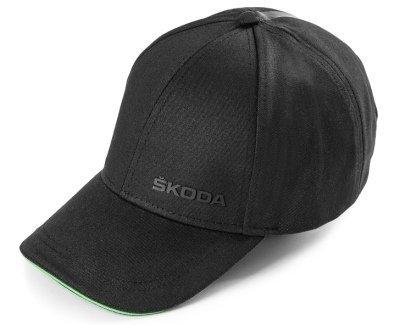 Бейсболка Skoda Black