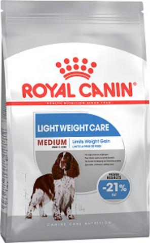 Royal Canin Medium Light Weight Care сухой корм для собак средних пород предрасположенных к полноте