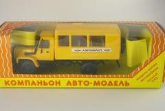 GAZ-3308 Sadko 4x4 Aeroflot Kompanion 1:43