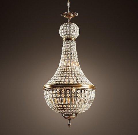 Подвесной светильник копия 19th C. French Empire Crystal Chandelier 21