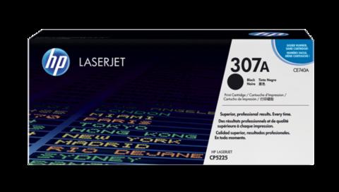 Оригинальный картридж HP CE740A (№307A), чёрный