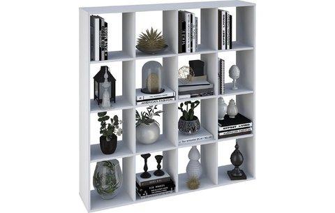 Стеллаж Polini Home Smart Кубический 16 секций, белый