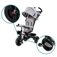 Велосипед Kinderkraft Aveo Grey складной