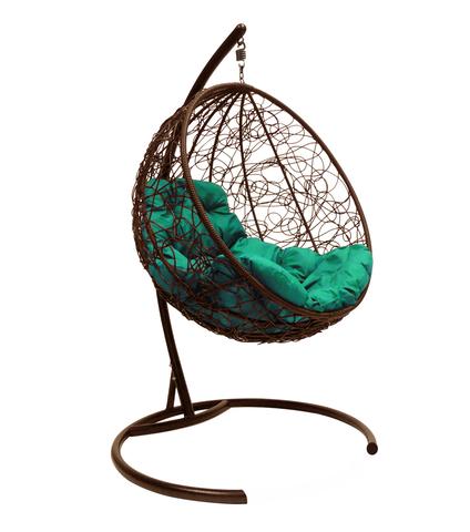 Кресло подвесное Milagro brown/green