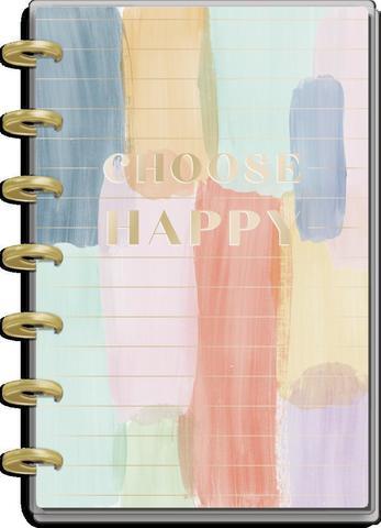 Ежедневник 12 Months - Mini Vertical Happy Planner - Painterly Pastel  - 12,5х18см