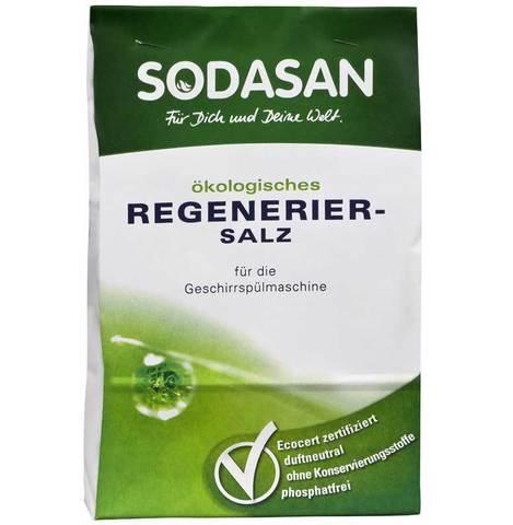Соль для посудомоечных машин, Sodasan, 2 кг