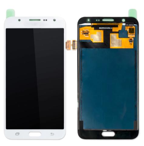 LCD SAMSUNG J7 J700 + Touch White OLED MOQ:5