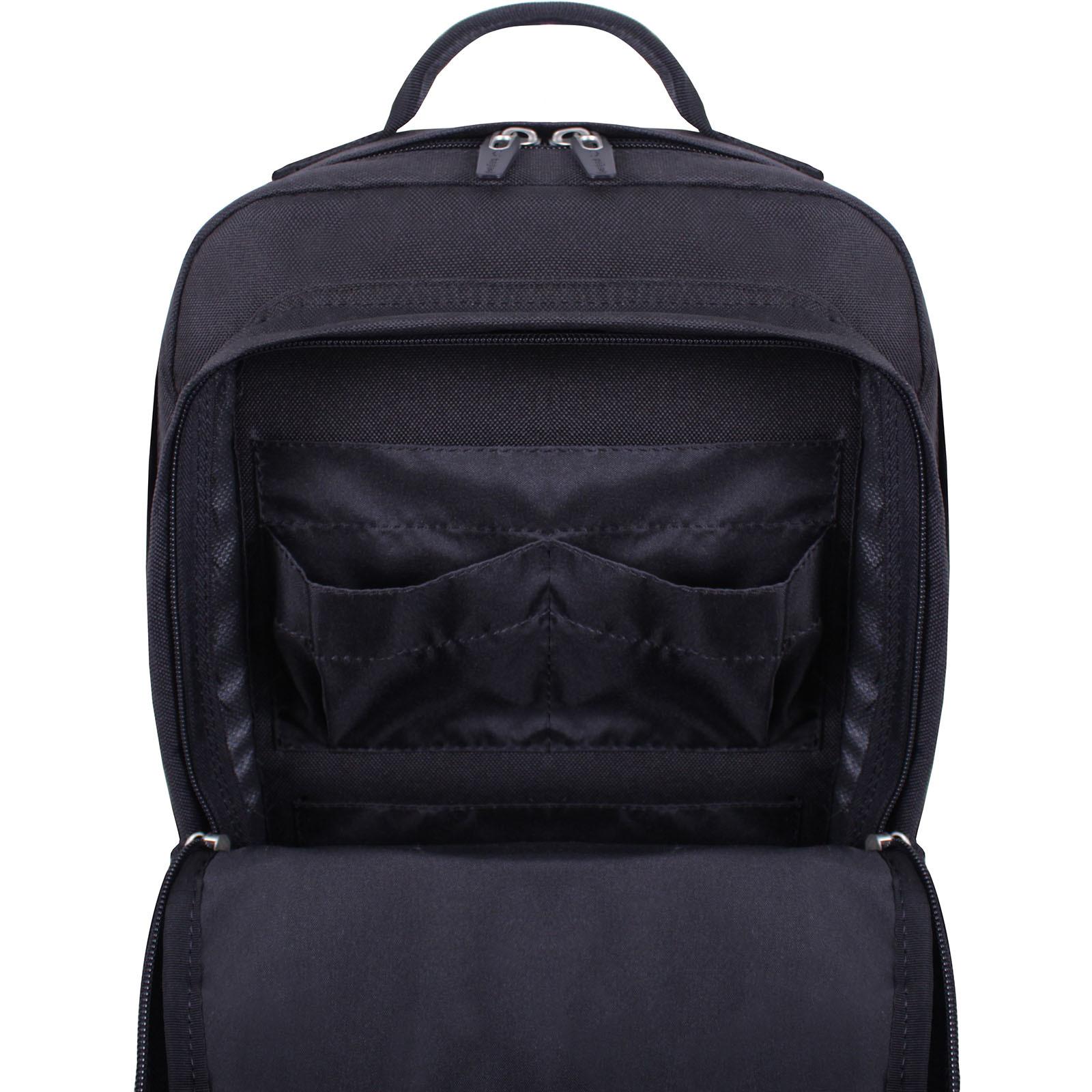 Рюкзак для ноутбука Bagland Jasper 19 л. Чёрный (0015566) фото 8