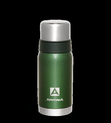 Термос Арктика (106-500 зелёный) 0,5 л с узким горлом американский дизайн, зеленый