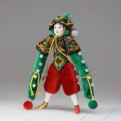 Ёлочная игрушка клоун Капитан