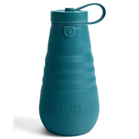 Бутылка складная силиконовая Stojo Bottle Lagoon, 20 oz / 590 мл