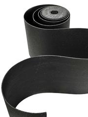 Лента бордюрная 45 см, толщина 3 мм, в рулоне 10 метров, черная