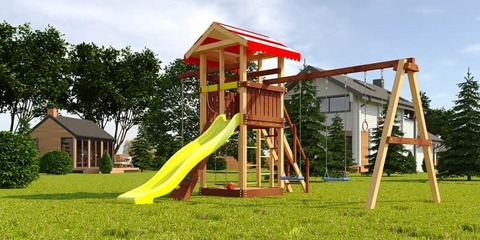 Детская площадка из дерева Савушка