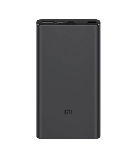 Аккумулятор Xiaomi Mi Power Bank 3 10000 (PLM12ZM) чёрный