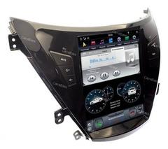 Магнитола для Hyundai Elantra/Avante (2011-2013) Android 9.0 модель ZF-1153-DSP стиль Tesla