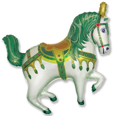 Лошадка зеленая