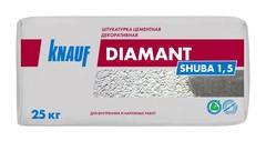 Цементная штукатурка декоративная Knauf Диамант Шуба 1.5, 25 кг