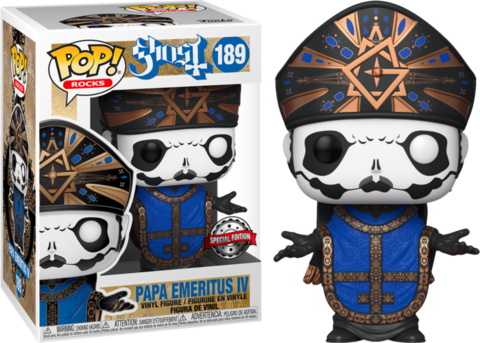 Фигурка Funko Pop! Rocks: Ghost - Papa Emeritus IV (Excl. to Hot Topic)