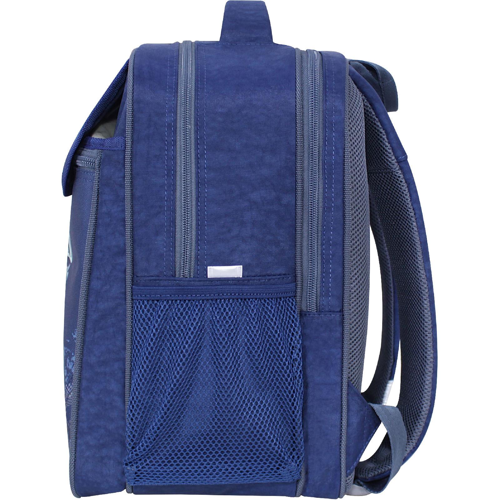 Рюкзак школьный Bagland Отличник 20 л. 225 синий 909 (0058070)