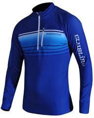 Утепленная беговая рубашка Noname Breeze Shirt Blue Unisex