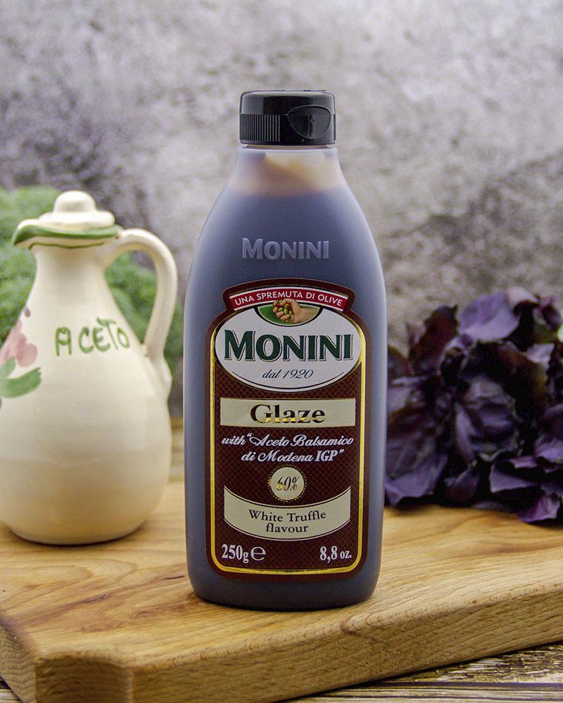 Бальзамический соус Monini со вкусом белого трюфеля (глазурь) 250 мл.