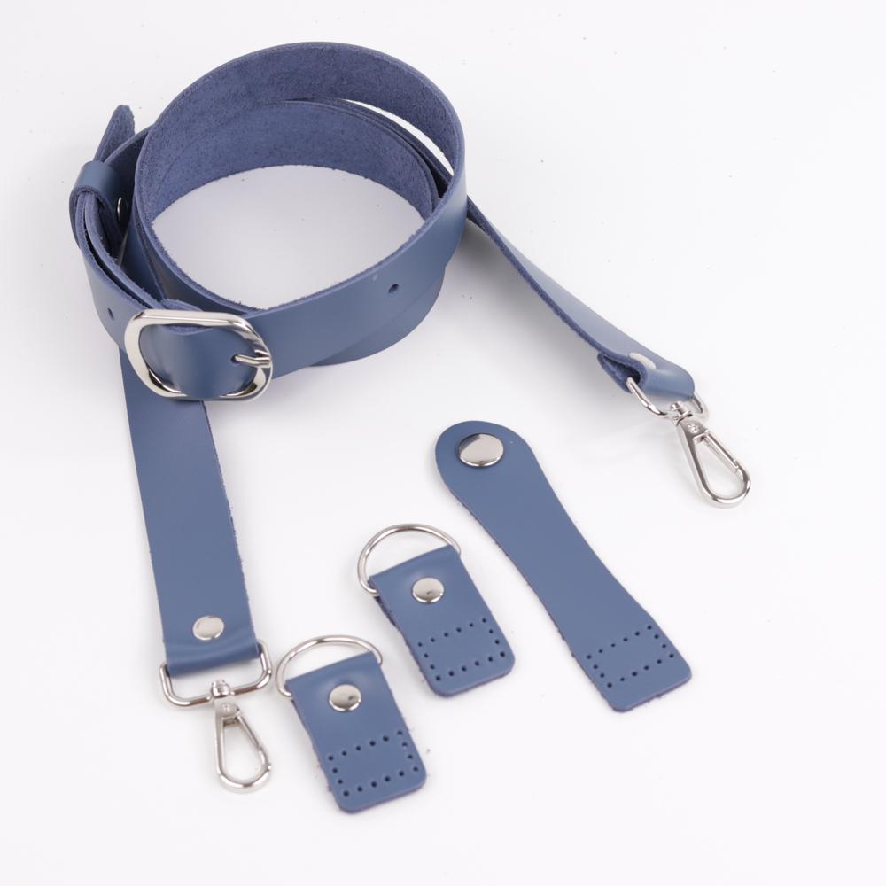 """Комплекты Комплект для сумки-ракушки """"Синий"""" с ручкой через плечо 20210328-IMG_0301.jpg"""