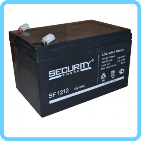 Аккумулятор Security Force 12V/12AH