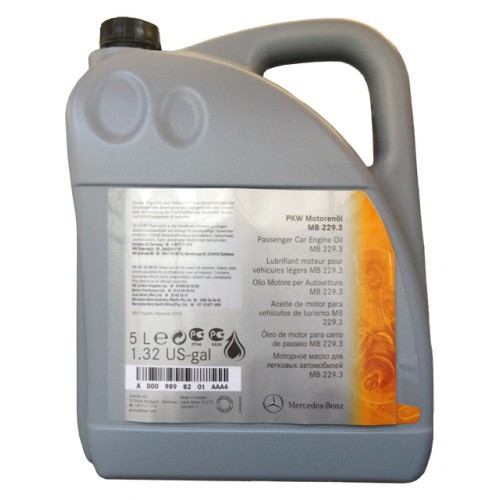 MERCEDES-BENZ MB 229.3 5W-40-Синтетическое моторное масло