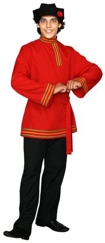 Красная косоворотка