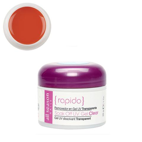 Цветной Soak of gel Orange You Glad 28,4 мл.
