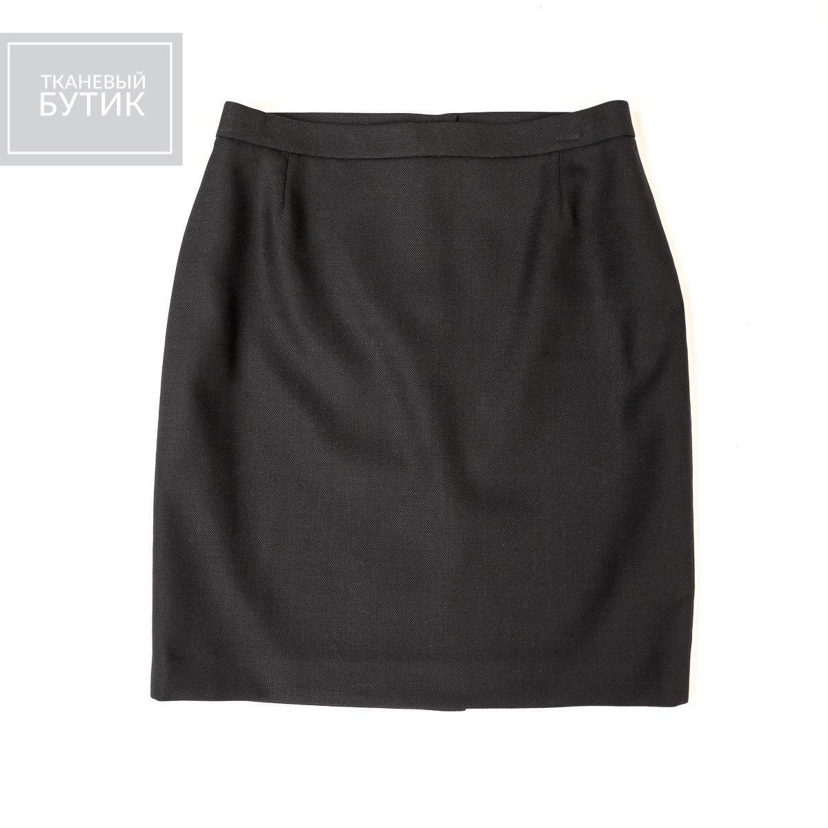 Классическая юбка из шерсти