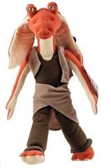 Звездные Войны мягкая игрушка Джа-Джа Бинкс