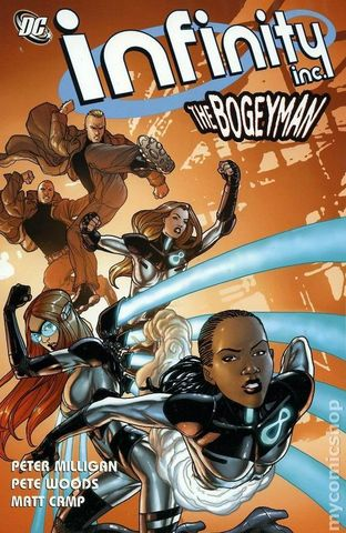 Infinity Inc. The Bogeyman TPB