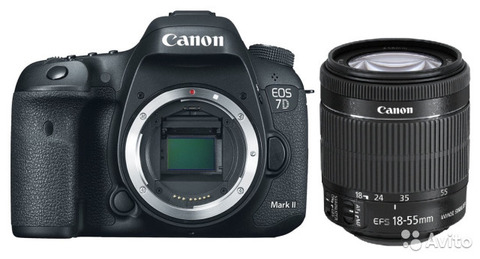 Canon EOS 7D Mark II kit 18-55 IS STM