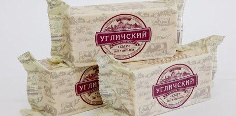 Сыр Российский Углич СЫРЫ И КОЛБАСЫ ИП ПОТАПОВА 1кг