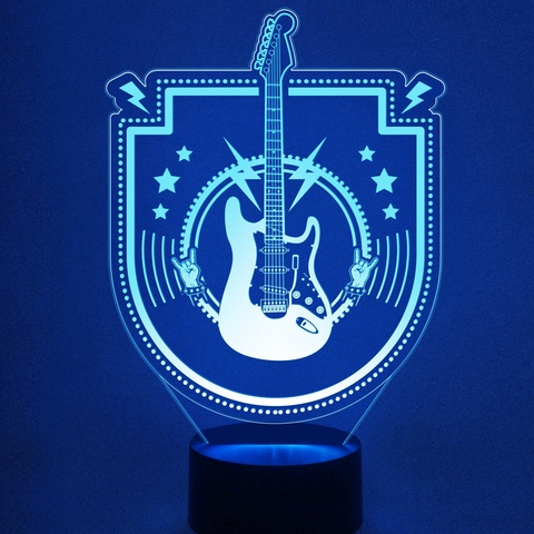 Электрогитара ( Рок-музыка )
