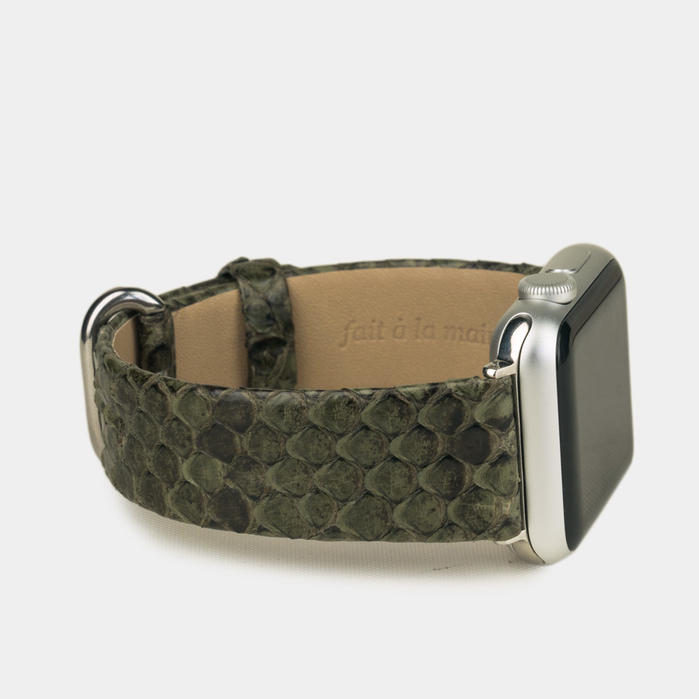 Band for AW 38/40mm – python green
