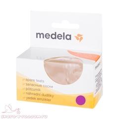 Medela. Соска силиконовая S/0+, 2 шт