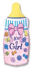 F Мини-фигура, Бутылочка для девочки, Розовый, 14