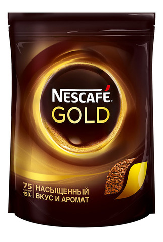 Кофе Nescafe Gold м/у 130г