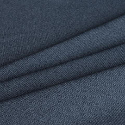 Ткань рогожка Джейн синий