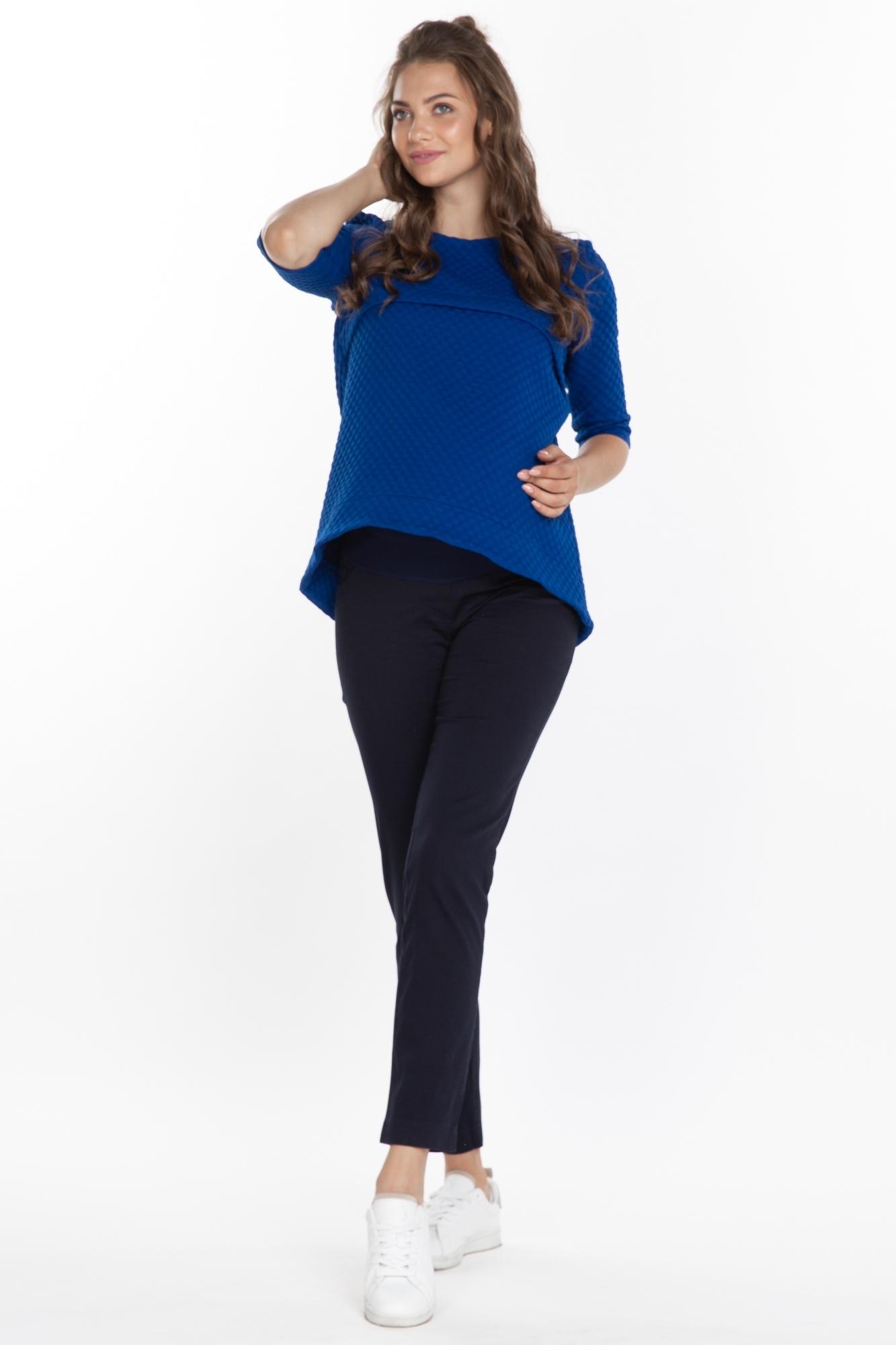 Брюки для беременных 03142 синий