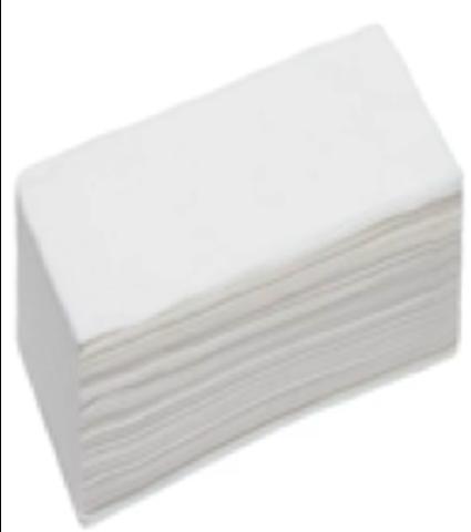Полотенце в настиле спанлейс 45*90 белые. 50 шт в упаковке.