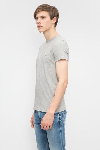 Мужская серая футболка Tommy Hilfiger