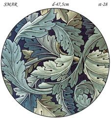 Эскиз для росписи, Круг диаметр-47,5см, SMAR-st-28