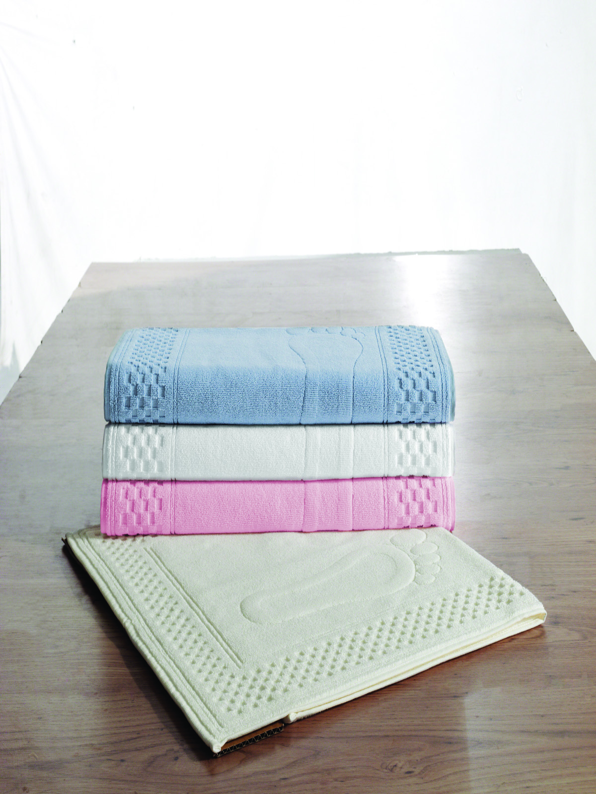 Коврики Коврик  для ванной 50х90  STEP СТЕП  Soft cotton Турция Step.JPG